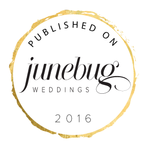 Published on Junebug Weddings 2016