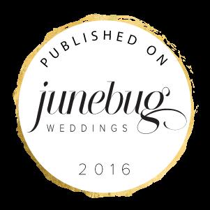 Published on Junebug Weddings 2016
