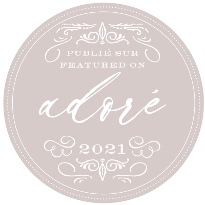 AS FEATURED ON ADORE BLOG MARIAGE 2021