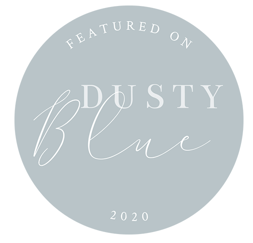 AS FEATURED ON DUSTY BLUE 2020