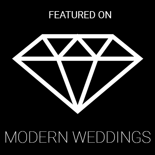 AS FEATURED ON MODERN WEDDING 2021