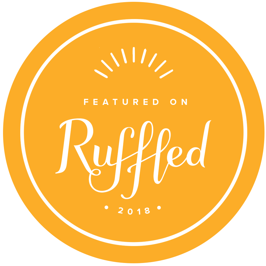 AS FEATURED ON RUFFLED 2018