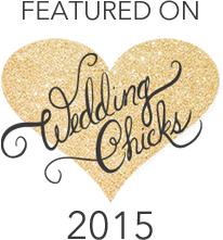 featured on Wedding Chicks 2015