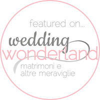 featured on... wedding Wonderland - Matrimoni e altre meraviglie