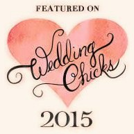 featured on Wedding Chicks 2015