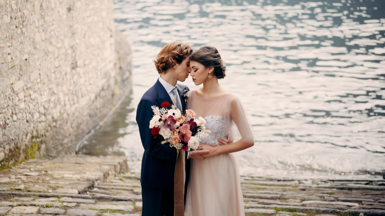 A Romantic Wedding Video at Villa Monastero Pax on Lake Como