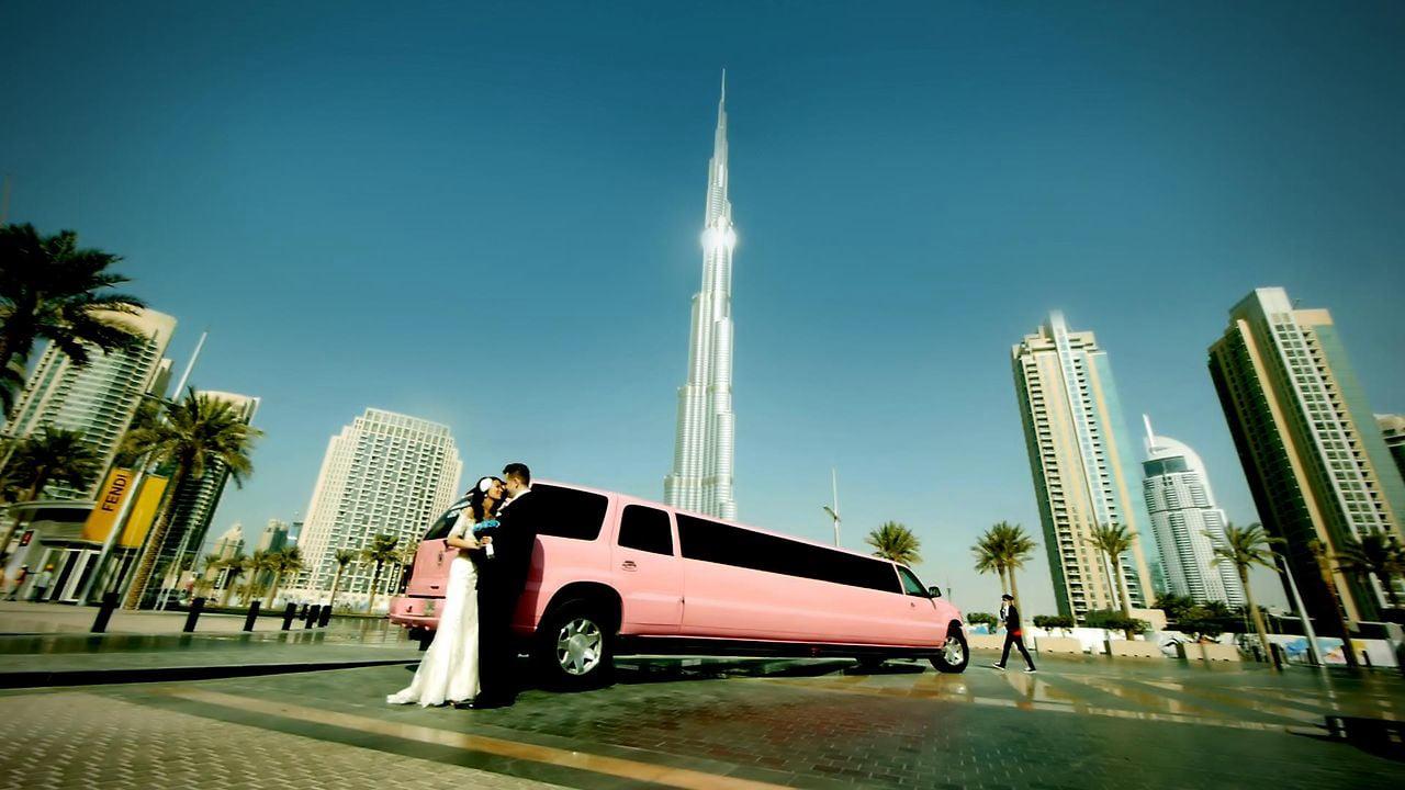 A Rock Wedding in Dubai.