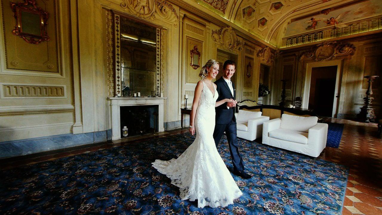 A Glamorous Castle Wedding in Montegufoni, Tuscany - Italy