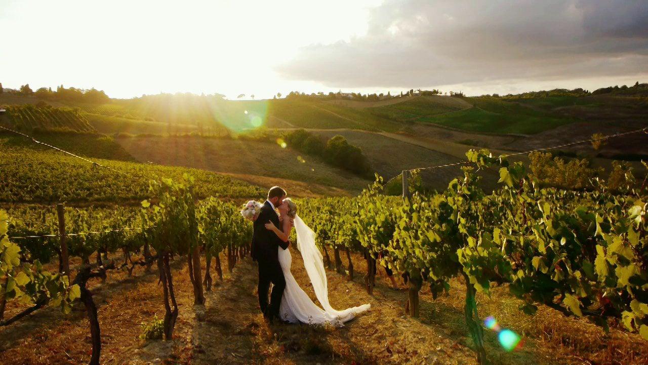 A Rustic Wedding Video in Radda in Chianti, Tuscany - Italy
