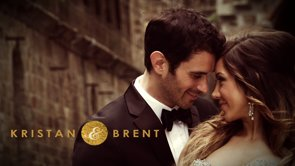 Kristan + Brent: a castle wedding film in black and gold