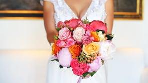 Laura + Andres: A romantic garden Villa wedding in Italy