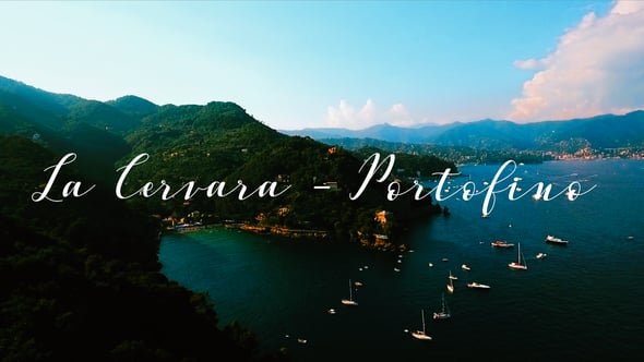 Jenny + Enrico: a luxury wedding film at La Cervara, Portofino - Italy