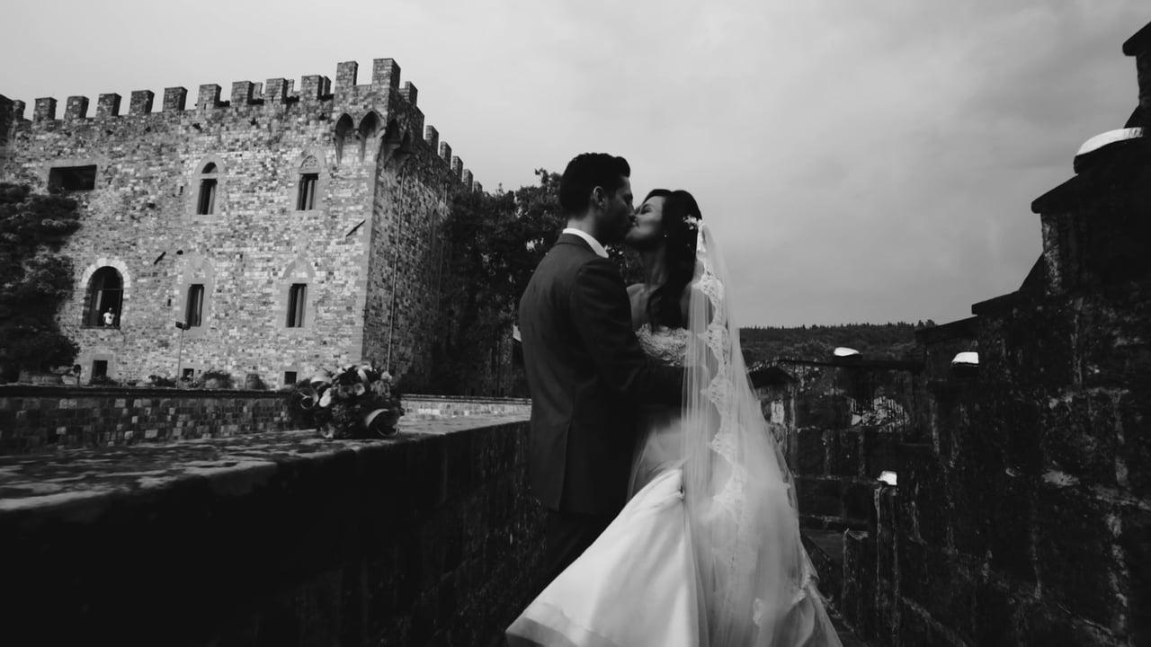 Un Matrimonio Da Favola Al Castello di Vincigliata con un Tocco Stravagante