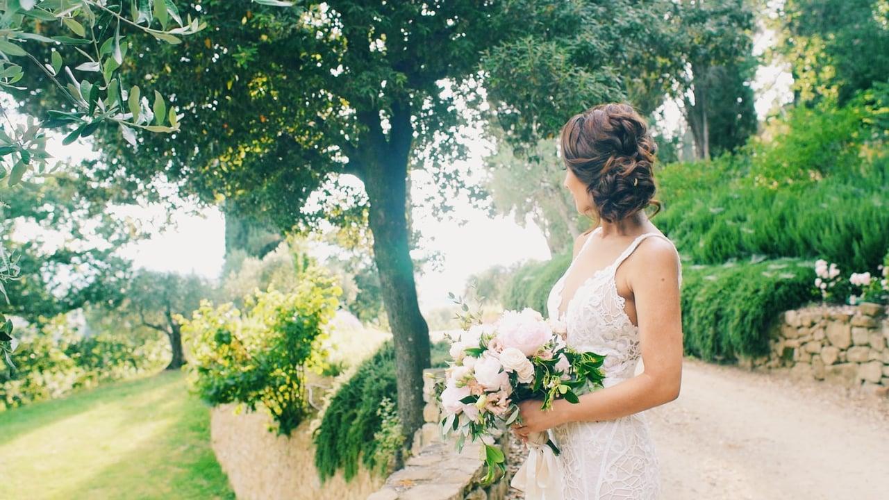 A Romantic Wedding Film at Villa Le Fontanelle, Florence