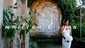 Martina + Ryan: A romantic destination wedding at Villa La Vedetta, Florence