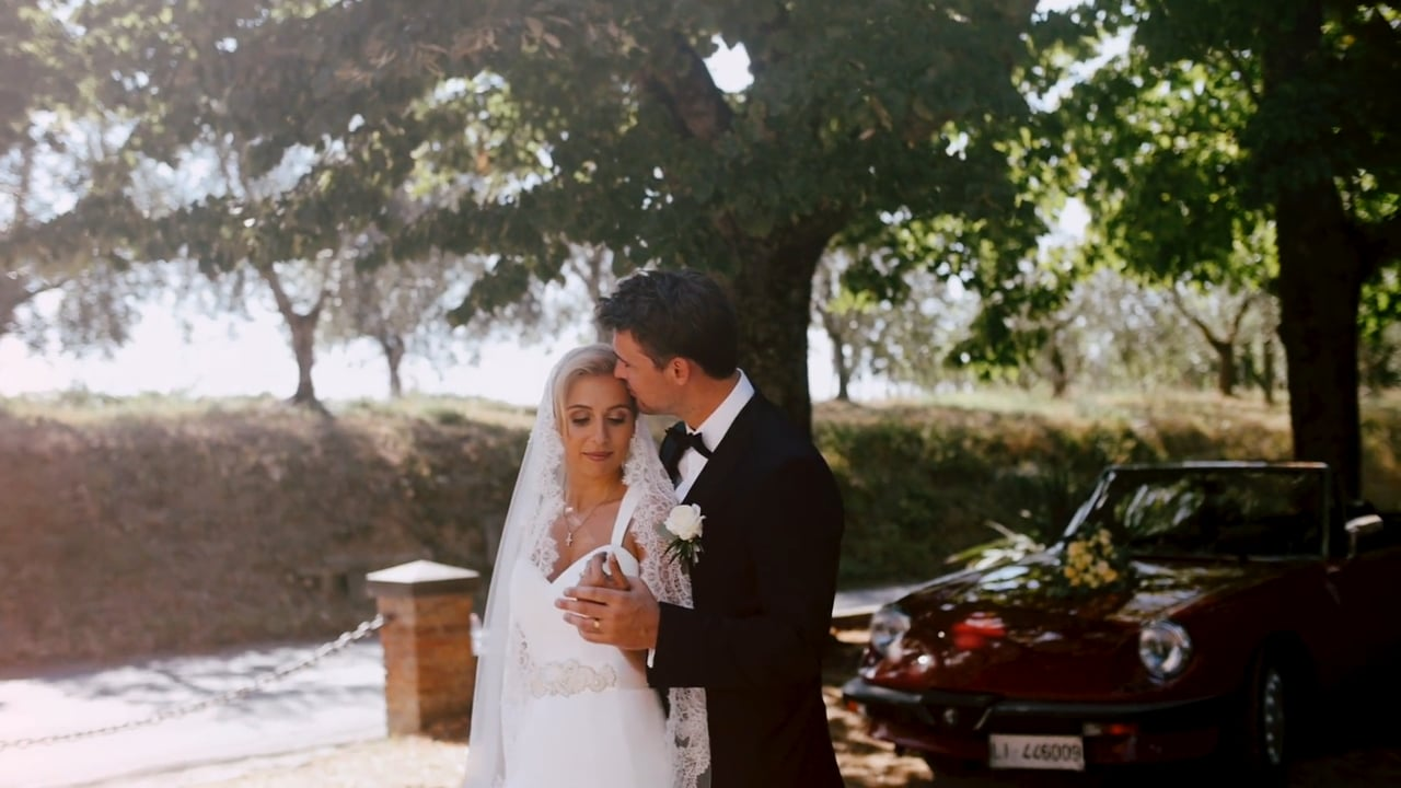 A Countryside Wedding in Tuscany, Italy