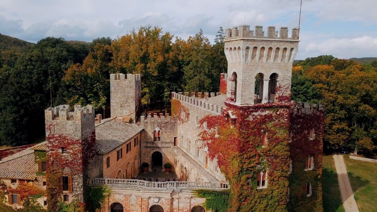 Ispirazione per un Matrimonio Al Castello di Celsa, Siena