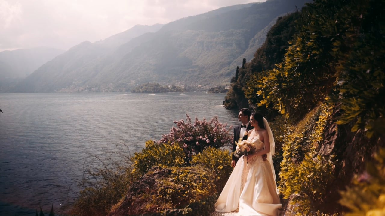 Jewish Wedding at Villa Del Balbianello, Lake Como