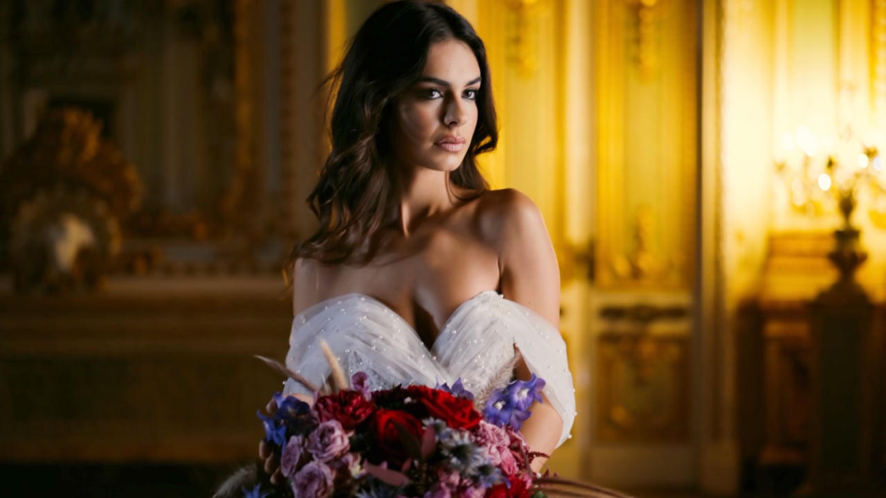 Bridal Editorial at Palazzo Parisio, Malta