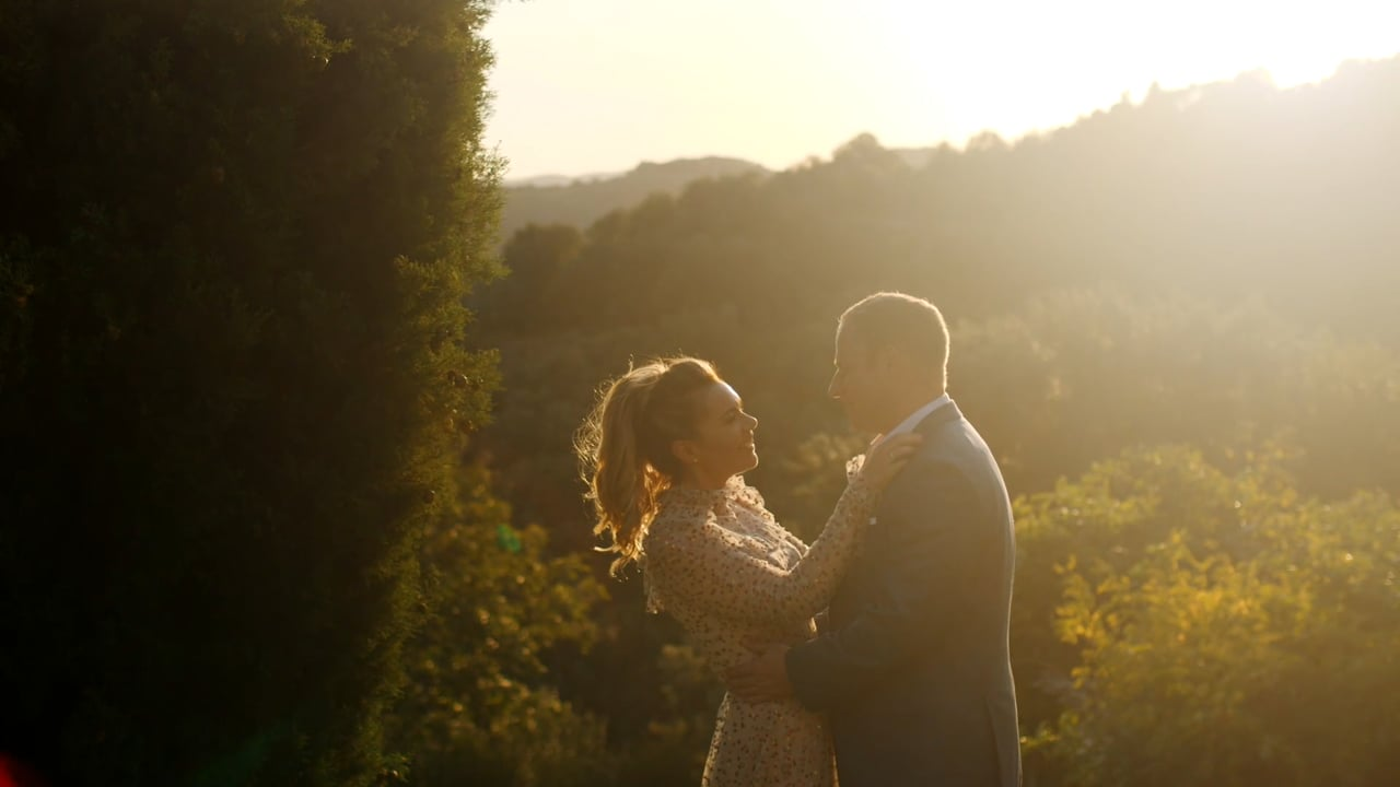 A Black & White Elegant Wedding in the Chianti Region, Tuscany